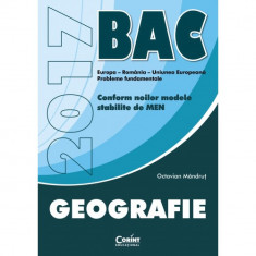 Bac 2017 geografie - Octavian Mandrut