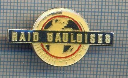 AX 384 INSIGNA SPORTIVA-RAID GAULOISES-CURSA DE AVENTURA -SPONSOR FIRMA TIGARI