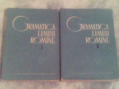 Gramatica limbii romane I-II-Acad.Al.Graur foto