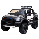 Masina electrica cu 2 motoare si telecomanda Ford Ranger Raptor Police 12V