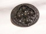 BROSA exceptionala OPULENTA de efect BIEDERMEIER 1850 vintage RARA de colectie