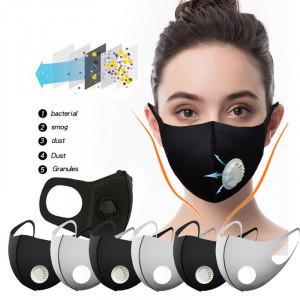 Masca de Protectie Praf Anti Ceata Smog PM2.5 Breathing Valve Reutilizabila