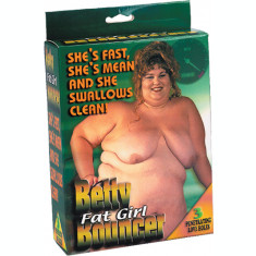 Papusa gonflabila Batty Fat Girl Bouncer