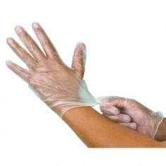 Cumpara ieftin Manusi de unica folosinta marimea M, albe, 100 bucati/cutie