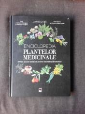 ENCICLOPEDIA PLANTELOR MEDICINALE, LAROUSSE foto