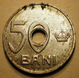 R.012 ROMANIA 50 BANI 1921, Aluminiu