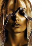 Tablou golden woman