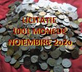 Licitatie 1001 MONEDE DIVERSE = colectie de pe toate continentele  *de la 1 EURO, Europa