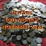 Licitatie 1001 MONEDE DIVERSE = colectie de pe toate continentele  *de la 1 EURO