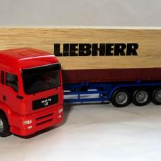 Herpa  MAN TGA XXL transport Liebherr 1:87
