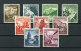 GERMANIA-Reich-Mi 675/683-MNH, Nestampilat