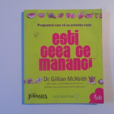 ESTI CEEA CE MANANCI- DR. GILLIAN McKEITH