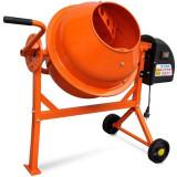 Cumpara ieftin Betonieră electrica 63 L 220 W oțel portocaliu