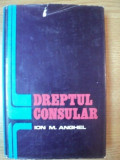 DREPTUL CONSULAR de ION M. ANGHEL , 1978