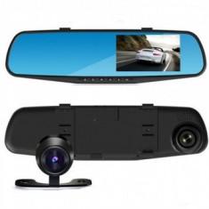 Oglinda retrovizoare monitor cu camera fata si spate Night vision WDR