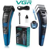 Aparat de tuns barbă profesional VGR V052   Aparat Ras Electric pentru Conturat, 1
