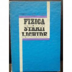 FIZICA STARII LICHIDE - L. GEORGESCU