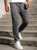 Pantaloni de trening gri Bolf CE085
