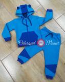 Trening copii bumbac bleu-albastru