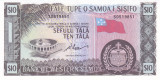 Bancnota Samoa de Vest 10 Tala (1967/2020) - P18e UNC ( serie S )