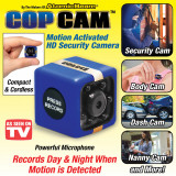 Camera video sport Marashop, COP CAM, Senzor miscare, Infraroru, USB