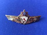 Insignă  militară - Specialist de clasă - clasa a III-a - Tancuri/Tanchist - RPR