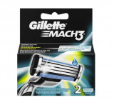 Rezerve aparat de ras Mach3, 2 bucati, Gillette