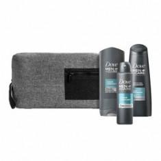 Set cadou: Dove Men+Care Complete Daily Essentials - gel de duș Dove Men+Care Clean Comfort , 250 ml + antiperspirant spray Dove Men+Care Clean Comfor