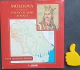 Album-harta Moldova in timpul lui Stefan cel Mare