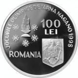 Monede argint Jocurile olimpice de iarnă Nagano - 3 bucati