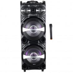Boxa portabila Akai DJ-222 cu Bluetooth, Efect DJ, Trolley