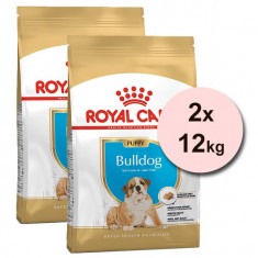 ROYAL CANIN BULLDOG JUNIOR - 2 x 12 kg
