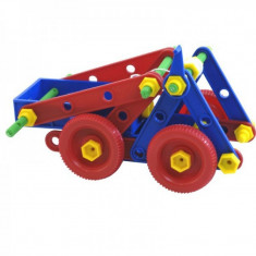Joc constructii Mekanico Miniland, 74 piese, Multicolor