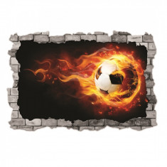 Sticker 3D perete, 60x90cm, Minge foc