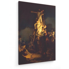Tablou pe panza (canvas) - Rembrandt - Deposition from the Cross