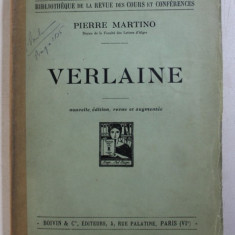 VERLAINE par PIERRE MARTINO , 1930