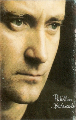 Caseta audio Phil Collins - But Seriously foto
