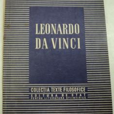 LEONARDO DAVINCI de C. I GULIAN,1952