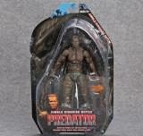 Figurina Arnold Schwarzenegger Predator 18 cm NECA Jungle Dutch