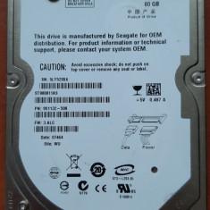 HDD laptop 80Gb SATA