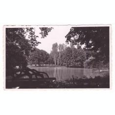 CRAIOVA-PARCUL BIBESCU-CARTE POSTALA ANII 40
