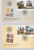 ROMANIA 2021 - PASIUNILE REGILOR ROMANIEI(I), PLICURI PRIMA ZI - LP 2313, Nestampilat