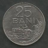 ROMANIA   RSR   25 BANI 1966  [01]  XF+++   ,  livrare in cartonas, Fier