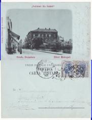 Galati- Hotel Metropol-clasica,  rara foto