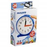Miniland - Joc pentru invatarea ceasului