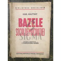 BAZELE SOCIAL-DEMOCRATIEI - KARL KAUTSKY