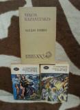 ALEXIS ZORBA/HRISTOS RASTIGNIT A DOUA OARA-NIKOS KAZANTZAKIS (3 VOL)