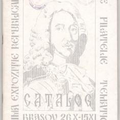 bnk fil Catalogul Expozitiei republicane de filatelie tematica Brasov 1973