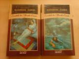 Contele de Monte-Cristo - AL. DUMAS , vol 1 si 2 , carti in tipla , noi