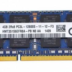 Memorie ram Sodimm SK HYNIX 4Gb DDR3 1600Mhz PC3L-12800S, 1.35V, hmt351s6efr8a, 4 GB, 1600 mhz